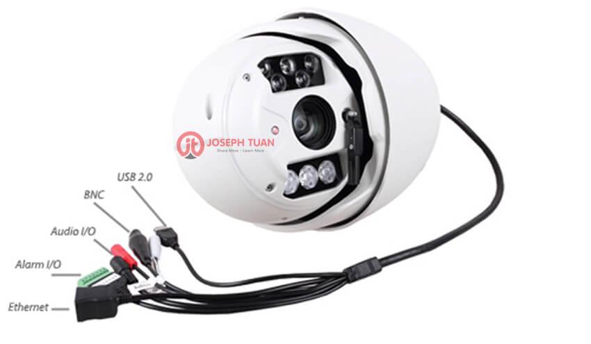 cấu tạo và hoạt động của camera ptz